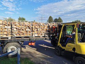 Holzlieferung regional