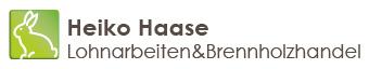 Logo Haase Lohnarbeiten & Brennholzhandel